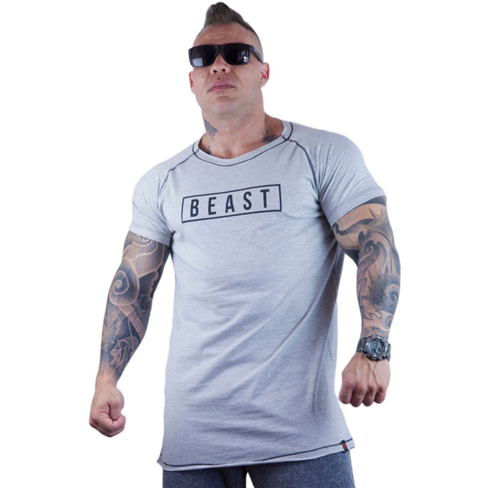 Camiseta Morcego Line Beast Pro Line Masculina  4e61b16f53b2c