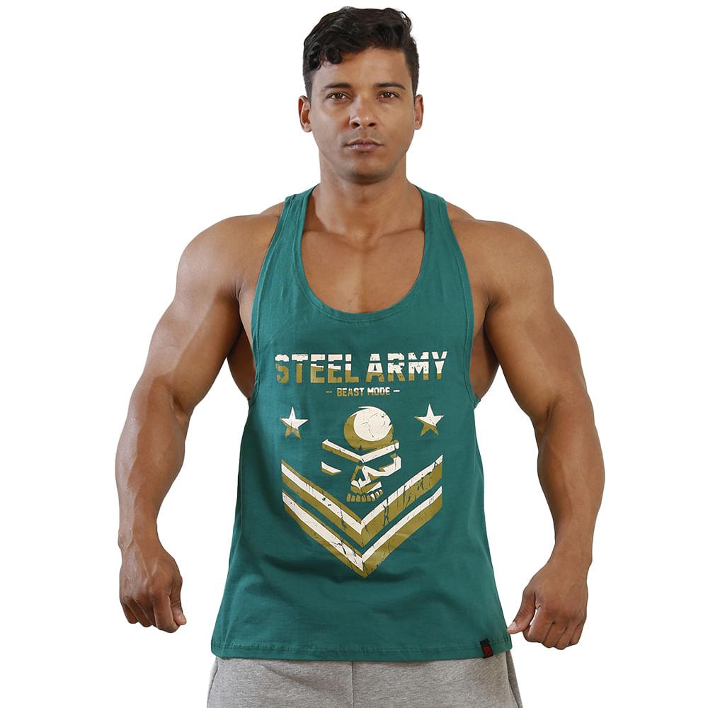 Regata Cavada Steel Army - Masculina  7ade1a72eff